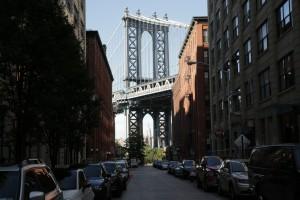 Manhattan Bridge from Front St.